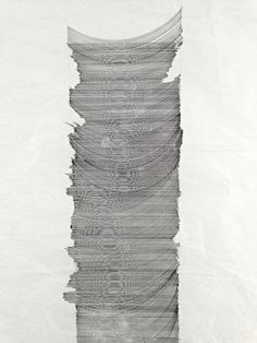 zahid movla. 0.3 mm pen on packing paper, 97 x 42 cm