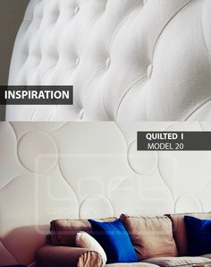 Quilted - model 20 - Inspiration. Click at the photo to get more information or to visit our website. #LoftDesignSystem #loftsystem #Decorativepanels #Inspiration #Interior #Design #wallpanels #3Ddecorativepanels #3dpanels #3dwallpanels #house #home #homedesign #Decorations #homedecorations #meringue #bedroom #salon #livingroom #Quilted