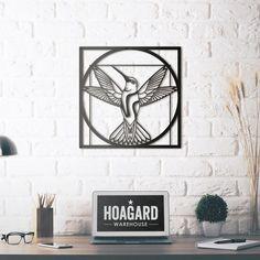 Metal Deco - Da Vinci - Vitruvian Bird