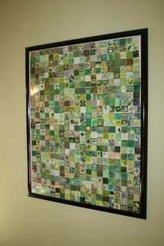 Thank you Craftster!! 520 Green Inchies - PAPER CRAFTS, SCRAPBOOKING & ATCs (ARTIST TRADING CARDS)