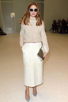 Olivia Palermo at the Chalayan Fashion Show l March 6th, 2015