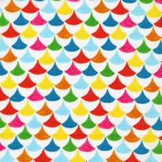 Cloud 9 Organic Cotton Fabric-The Land That Never Was-Bunting by HouseOfJdawn on Etsy
