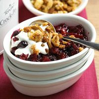 Mixed Berry Crumble - you can actually make this in the slow cooker.