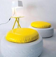 Новая жизнь старых покрышек: 74 DIY-идеи - Лайфхакер
