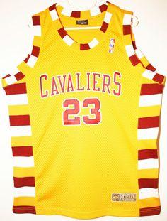 1dac4f628 Champion NBA Basketball Cleveland Cavaliers  23 LeBron James Trikot Jersey  Size 40 - Größe