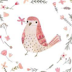 Hello!    #birdsofinstagram #pink