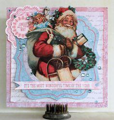 Jingle All The Way - Christmas Card - Kaisercraft Silver Bells