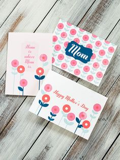 FREE printable mothers's day cards