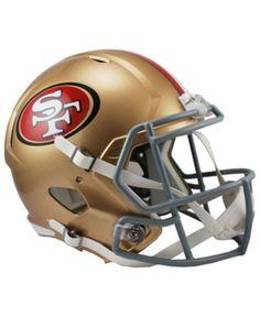 Riddell San Francisco 49ers Speed Replica Helmet - Red cd921f7a1