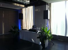 Dj Setup, Wedding Dj, Flat Screen, Loft, Hairstyles, Events, Spaces, Makeup, Haircuts
