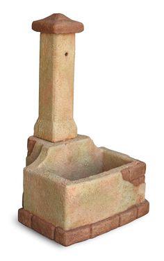 Fontana da giardino modello Val di Pejo col. pietre del borgo Residential Construction, Fountain, Miniatures, House Design, Outdoor Decor, Appliances, Products, Gardens, Crafts