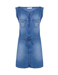 The denim dress is back in!! Love this piece.