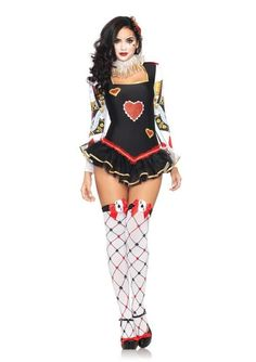60b9143c30 Sexy Queen of Hearts British Guards Women s Adult Halloween Fancy Costume  Dress