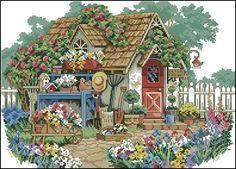 Busco patrones de casas de campo o paisajes campestre. | Aprender manualidades es facilisimo.com
