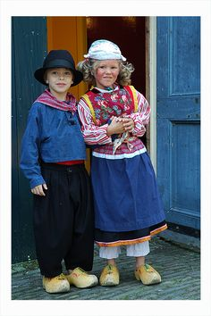 more dutch costumes
