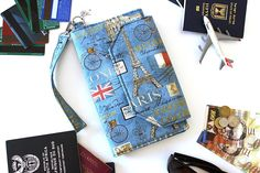 Family passport holder family travel wallet travel document family travel wallet family passport holder travel gumiabroncs Image collections