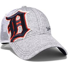 Detroit Tigers Women's M-Twist Trucker 9FORTY Adjustable Cap by New Era - MLB.com Shop