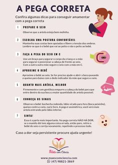 Fazendo a pega do seio de forma correta Eco Baby, Baby E, My Little Baby, Doula, Mother And Baby, Mom And Baby, Baby List, Baby Shark, Baby Bumps
