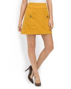 Kenya A-Line Mini Skirt