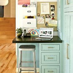 Kitchen Office Area
