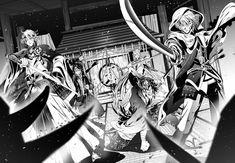 Manga Drawing, Manga Art, Yandere Boy, Mutsunokami Yoshiyuki, Anime Poses, Anime Sketch, Action Poses, Touken Ranbu, Art Market