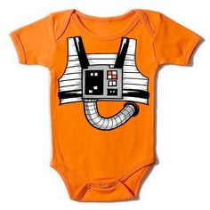 Rebel Fighter XWing Onesie Star Wars baby by GoGetYourGeekOn, $17.00
