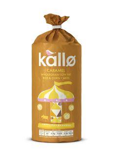 Kallo Caramel Rice & Corn Cakes
