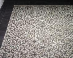 Impressie van oude,antieke tegels en Portugese tegels