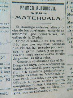PRIMER AUTO. De Don Guillermo Dingwall.....