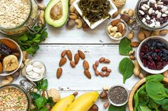 Slideshow: Are You Getting Enough Magnesium for Your Health? - food - foods with magnesium - Foods High In Magnesium, Low Magnesium, Magnesium Sources, Magnesium Benefits, Magnesium Deficiency, Magnesium Supplements, Magnesium Oxide, Nutrition And Dietetics, Immune System