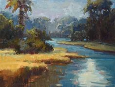 Hagan Fine Art Dee  Beard Dean Winding Marsh