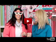 This would be so much fun !  Riley Blake Designs presents Tonia's Holiday Photo Props Video