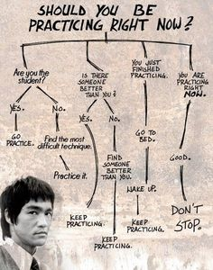 A musician's life | Wise words from Bruce Lee