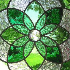 shades of green   Shades of Green   Flickr - Photo Sharing! Faux Vitrail, Stained Glass Windows, Custom Stained Glass, Stained Glass Designs, Leaded Glass, Stained Glass Art, Stained Glass Projects, Stained Glass Patterns, Fused Glass