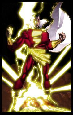 Captain Marvel by the Powers of Shazzam.