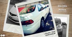 ¡Muchas gracias Maximiliano de Córdoba por compartir la foto de tu #Honda Civic Coupe Ex!
