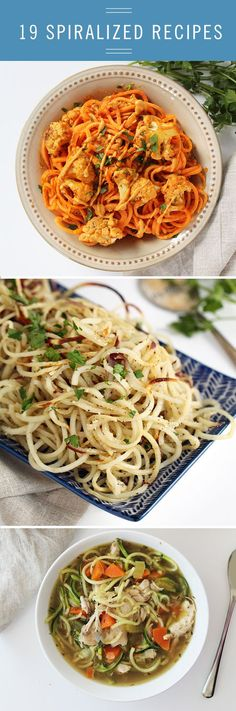 Make the most delicious noodles out of vegetables! We have nutritious, yummy, and easy recipes for you.