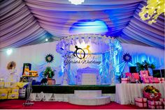 BEAUTIFUL YORUBA TRADITIONAL WEDDING DECORATIONS******** - Yoruba Wedding Wedding Decorations Pictures, Yoruba Wedding, Wedding Reception Centerpieces, Wedding Website, Traditional Wedding, Happily Ever After, Wedding Day, Birthday Cake, Bride