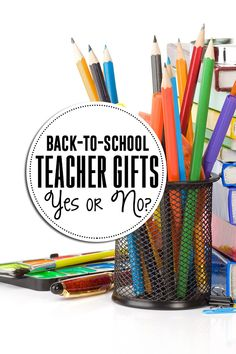 Are back-to-school teacher gifts necessary?