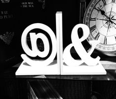 Bookends for designers. #apetail #ampersand #bookend