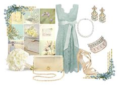 Catching the bouquet by kburton1971 on Polyvore featuring polyvore fashion style Steve Madden Tory Burch Jane Norman Suzanna Dai clothing