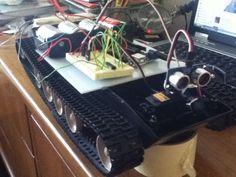 Autonomous Arduino Tank (A.A.T)