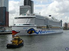 AIDAprima departs every week from Rotterdam.