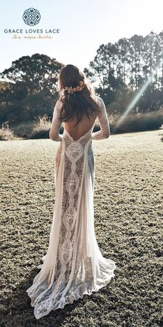 Browse our stunning wedding dresses now. Grace Loves Lace artfully crafts wedding gown designs using the finest European laces & silks for a new generation of bride. Grace Loves Lace, Dream Wedding Dresses, Bridal Dresses, Maxi Dresses, Boho Wedding Dress Backless, Boho Dress, Bohemian Beach Wedding Dress, Fashion Dresses, Bobo Wedding Dress