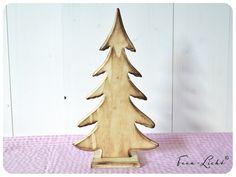 Deko-Objekte - Tannenbaum Holz