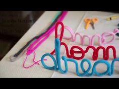 Como fazer o ponto i-cord, tricotin ou rabo de gato? Dicas de tricô - YouTube