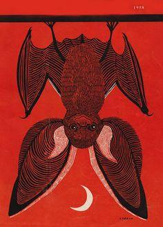 Bat by Lobban, Country Fair magazine, 1958