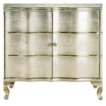 refinish furniture with metallic paint or  mirrors.