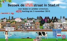 Het Pakjeshuis vind je ook in de speciale Viva-straat in @stadnl, Veel winkels met 40% korting!