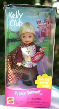 kelly dolls mattel   Mattel Kelly Club Prince Tommy Doll (1999) - NRFB Barbie Toys, Barbie I, Barbie And Ken, Doll Toys, Barbie Sisters, New Dolls, Heart For Kids, Barbie Friends, Childhood Toys